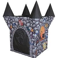 skynatureハロウィン装飾、Kids Castle Play Tipi Decor withウィザード帽子、ブラックCat & Spider、インドア/アウトドアテント折りたたみ式子供用パーティー、大きな赤ちゃんと幼児おもちゃ男の子、女の子のストレージ、。。。