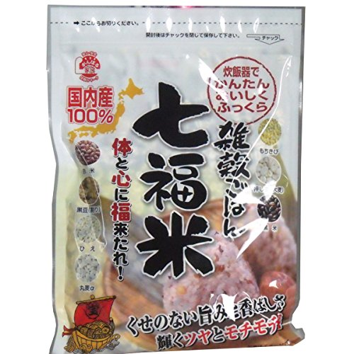 雑穀米 国産 七福米 280g×2袋セット