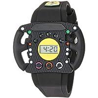 Scuderia Ferrari Quartz Resin and Silicone Casual Watch, Color:Black (Model: 0810013)