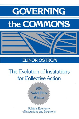 Governing the Commons: The Evolution of Institutions for Collective Action (Political Economy of Institutions and Decisions)の詳細を見る