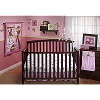 Little Bedding by NoJo 3 Little Monkeys 10 Piece Crib Bedding Set, Girl by Little Bedding (English Manual)