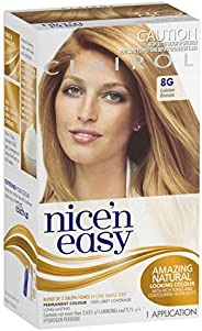 Clairol Nice'n Easy Permanant Hair Colour, 8g Golden Blonde, 1 c