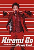 "Hiromi Go Concert Tour 2014""Never End""[DVD]"