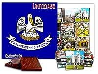 """DA CHOCOLATE キャンディ スーベニア """"ルイジアナ """" LOUISIANA チョコレートセット 5×5一箱 (Flag)"""