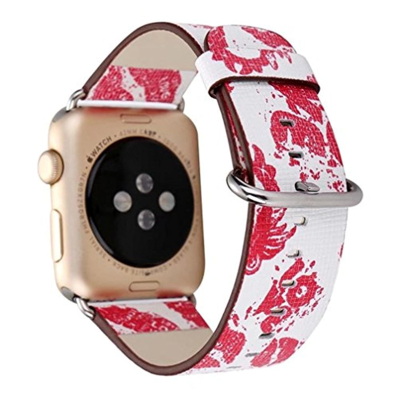 inverleeファッションレザーストラップ交換バンドツアーブレスレットバンドfor Apple Watch 38 mm