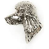 プードル(ライオンカット) イギリス製 アート ドッグ ピンバッジ コレクション