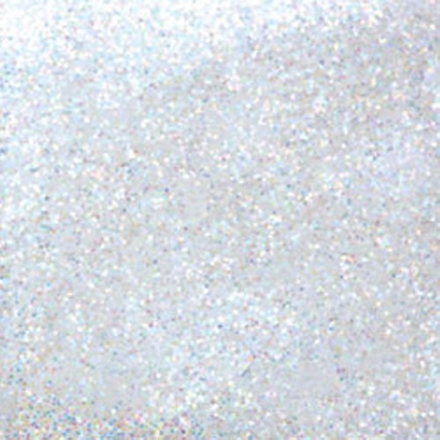 条件付きナイロン努力するピカエース ネイル用パウダー ラメカラーレインボー M #420 ホワイト 0.7g