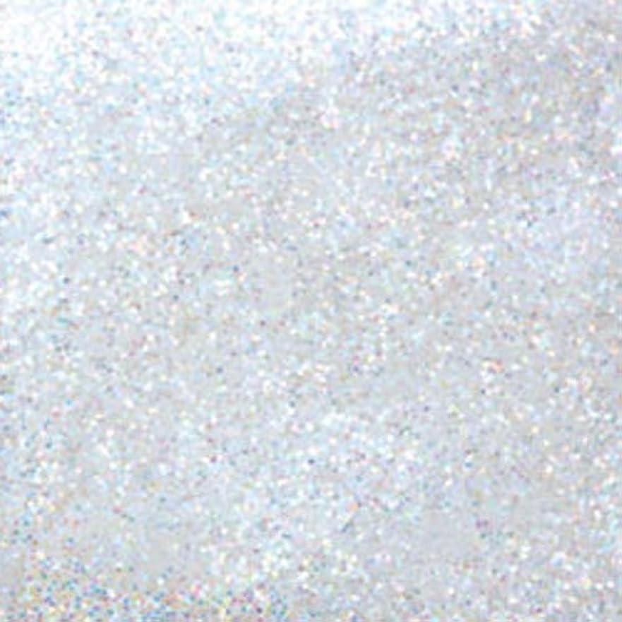いたずら遠洋の浸食ピカエース ネイル用パウダー ラメカラーレインボー M #420 ホワイト 0.7g