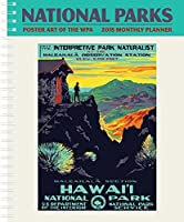 National Parks Poster Art of the WPA Softcover Monthly Planner Calendar 2018 [並行輸入品]