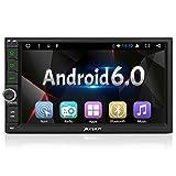 Android 6.0 ナビ 2din 7インチ カーオーディオ RAM 2GB タッチパネル 1080P GPS Bluetooth4.0 Wifi OBD対応 18ヶ月保証