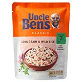 Uncle Ben's Classics Long Grain & Wild Rice (250g) 叔父ベンの古典長粒とワイルドライス( 250グラム)