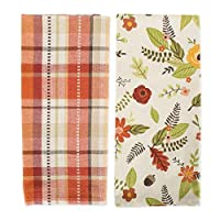 DII CAMZ10695 Dish Decorative Oversized Woven Kitchen Towels 6 Pack [並行輸入品]