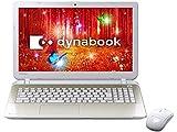 東芝 Toshiba dynabook T65/PG cpu i5-5200U PT65PGP-SHA Windows8.1 64BIT Office H&B Pプラス Office365サービス 15.6(16:9)HD液晶 8GBx1 1TB ワイヤレスレーザマウス DVDスーパーマルチドライブ Webカメラ搭載