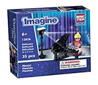 Brictek Children's Imagine Pianist Interlocking Building Brick Toy (35 Piece) [並行輸入品]