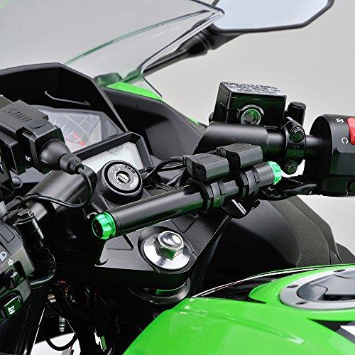 DAYTONA(デイトナ) バイク専用電源 USB2ポートACC2.1A 97041