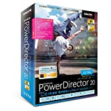 サイバーリンク PowerDirector 20 Ultra アップグレード & 乗換え版