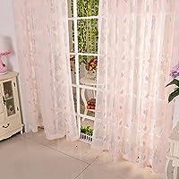 (良品しかない)夜も透けにくいミラーレース UVカット ミラーカーテン 1組2枚入り (幅100cm×丈198cm(2枚組))