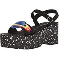Rocket Dog Women's Lazerbeam Coast Fabric/Plant Patch Wedge Sandal