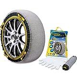 スノーグリップ テックス (SNOW GRIP TEX) 布製 タイヤチェーン 簡単取り付け 雪道 滑り止め 作業用手袋付 (TX-3)