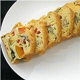 ケーク・サレ−フランスの家庭料理、塩ケーキ(彩り野菜のケーキ)【冷凍品】