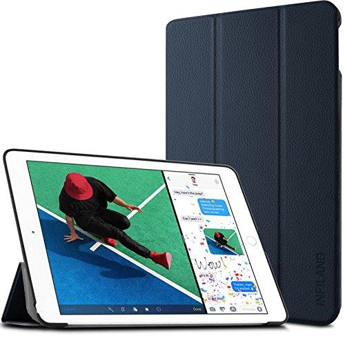 Infiland iPad Pro 9.7ケース 2017モデル 三つ折りスタンドカバーオートスリープケース