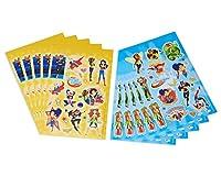 (10 Sheets, Dc Super Hero Girls) - American Greetings DC Super Hero Girls Sticker Sheets, 10 Sheets Novelty