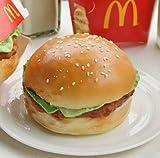 リアルサイズ ハンバーガー型 リストレスト キーボードクッション
