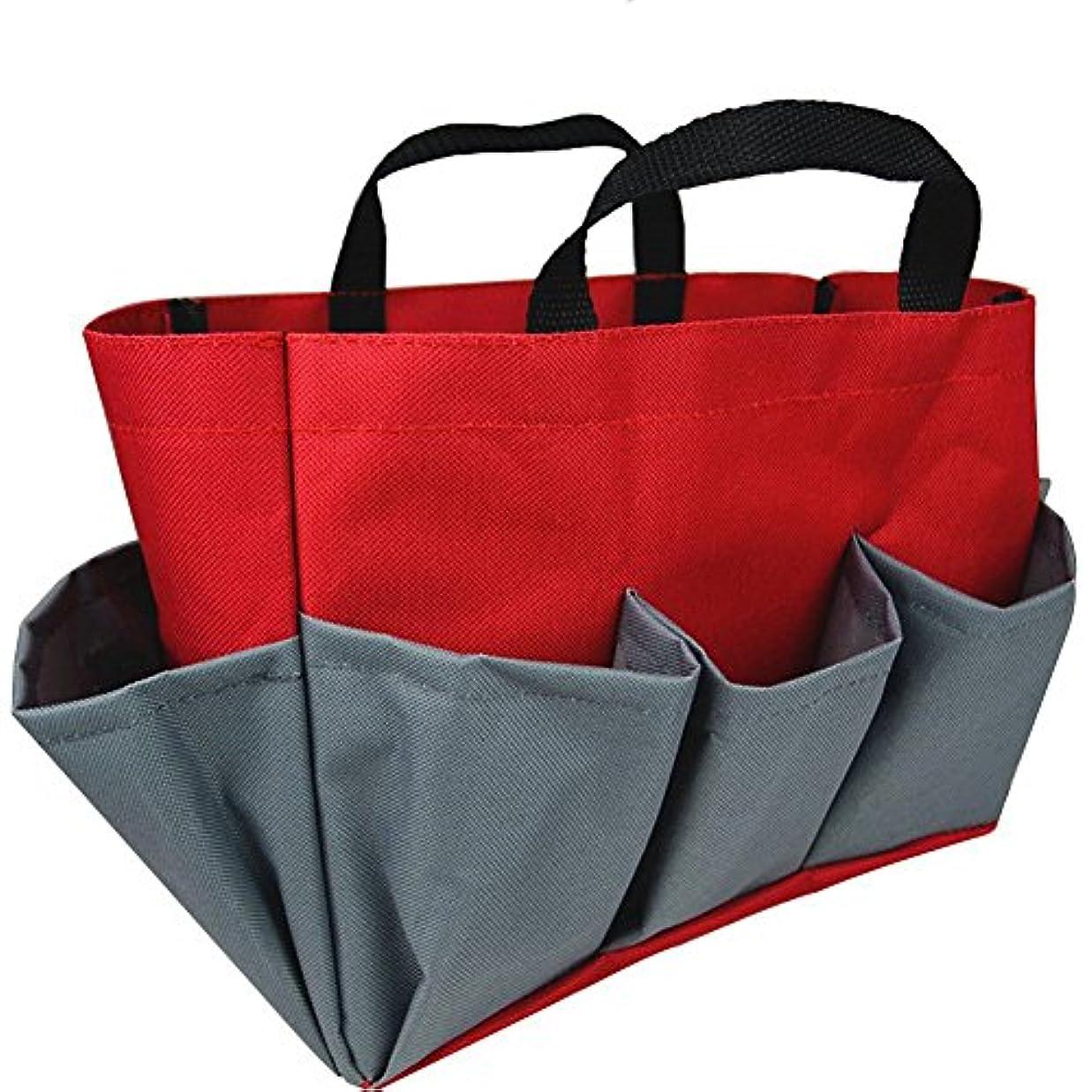 構成コカインミンチチャミ 多機能 収納バッグ 収納トートバッグ ツールキャリーバッグ 防水性 洗面用具入れ 旅行家庭用に 化粧品バッグ ガーデンキットバッグ