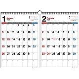 2020年 書き込み式シンプル2ヵ月カレンダー A3【K5】 ([カレンダー])