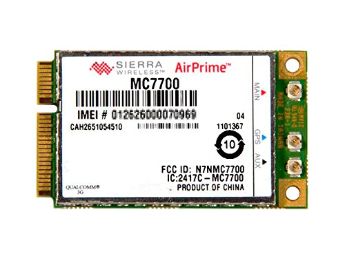 Sierra Wireless MC7700 - Gobi 4000 LTE, 3G, HSPA+, EDGE, GSM ワイヤレスWAN WWANカード