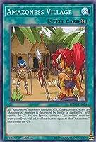 Yugioh 1st Ed Amazoness Village LEDU-EN014 Common Rare 1st Edition Legendary Duelists Cards