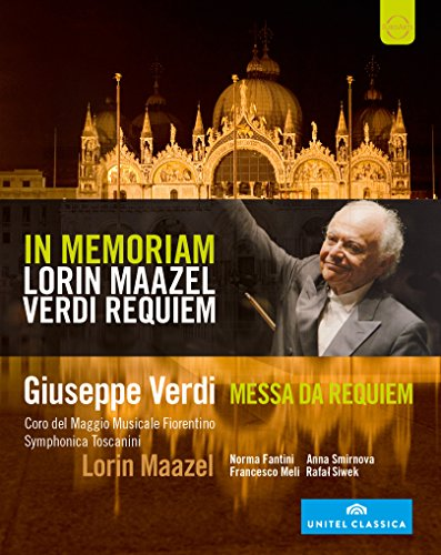 In Memoriam : Lorin Maazel - VerdiMessa Da Requiem [Blu-ray]
