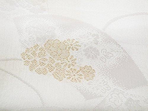 礼装用 正絹 手組紐 織細金銀糸使用 帯締め 縫取り 帯揚げ 金銀扇子 亀 4点セット 留袖用 桐箱入り (扇面(t-11))