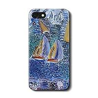 iPhone5c ラウル デュフィ サン=タドレッス スマホケース 名画 絵画 人気 オリジナル 丈夫 耐衝撃 かわいい レトロ