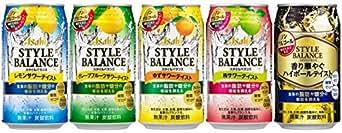 【アサヒ ノンアルコール】スタイルバランスサワー5種飲み比べセット350ml×20本