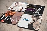 28種類!人気レア!《ティナ・ターナー/Tina Turner》オリジナル・アルバム ジャケット デザイン コルク製 コースター 4個セット (17-20) [並行輸入品]