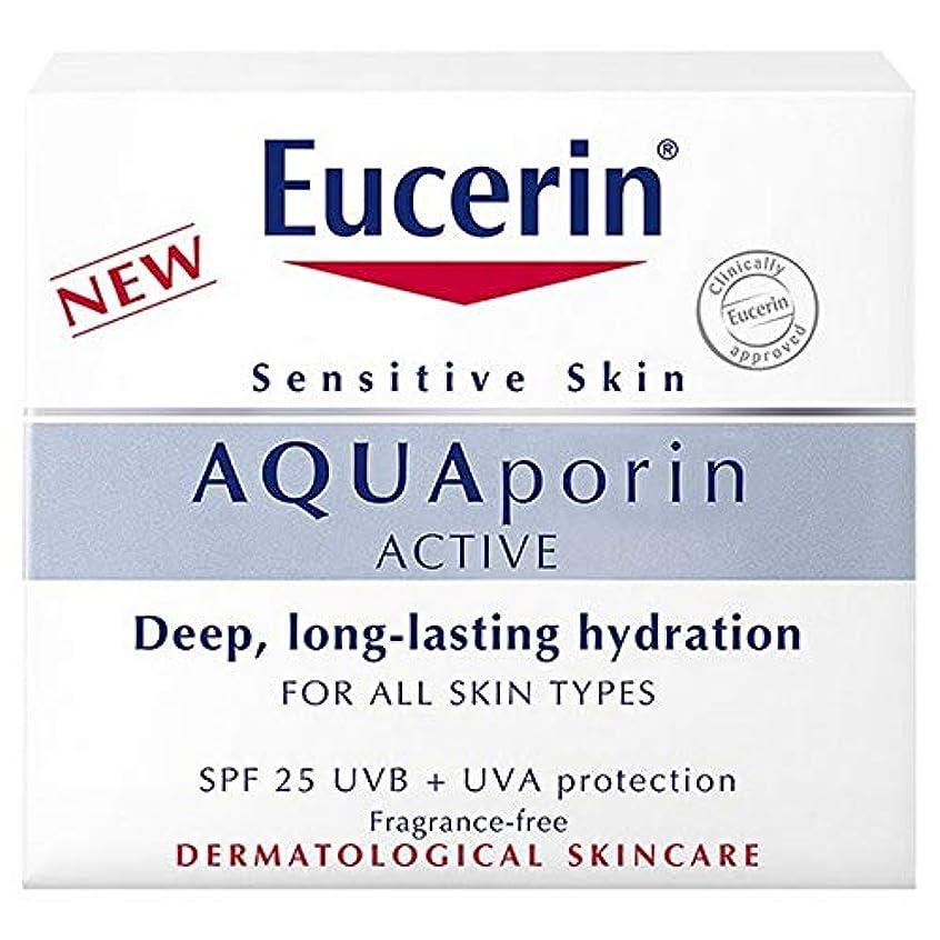 オーディション思い出させるリテラシー[Eucerin] Eucerin?のアクアポリンアクティブハイドレーションSpf 25 Uvb / UvaのProtの50ミリリットル - Eucerin? Aquaporin Active Hydration SPF...