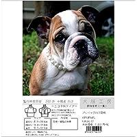 犬服工房 振袖着物(一重) ecoタイプ ブルドッグ BSM&BM&BML