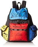 レスポートサック LeSportsac Women's X Peanuts Voyager Backpack Snoopy Friends [並行輸入品]