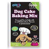 [OGGIS OVEN] Oggiのオーブン犬ケーキベーキングミックス、りんご - Oggi's Oven Dog Cake Baking Mix, Apple [並行輸入品]