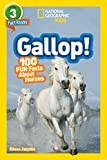 KITSON National Geographic Readers: Gallop! 100 Fun Facts About Horses