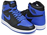 (ナイキ) NIKE AIR JORDAN 1 RETRO HIGH OG ''ROYAL'' BLACK / ROYAL - WHITE 555088-007 27.5(9H)US [並行輸入品]