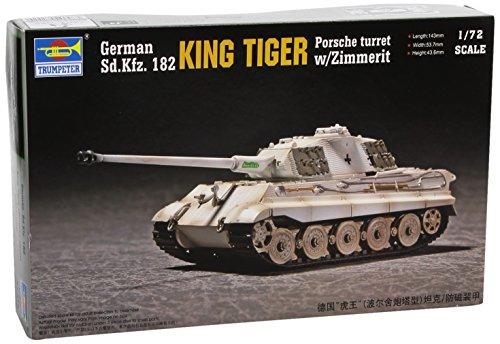 1/72 ドイツ軍 キングタイガー/ポルシェ ツィメリット