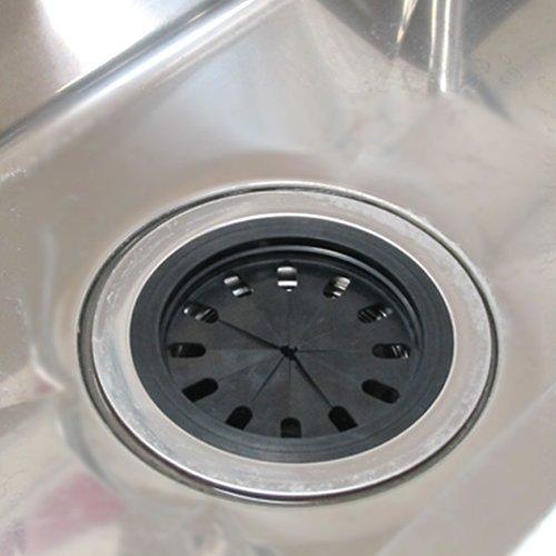 三栄水栓 『シンクの排水口の蓋』 流し菊割れフタ 適合サイズ134・145・150mm PH63-9SA