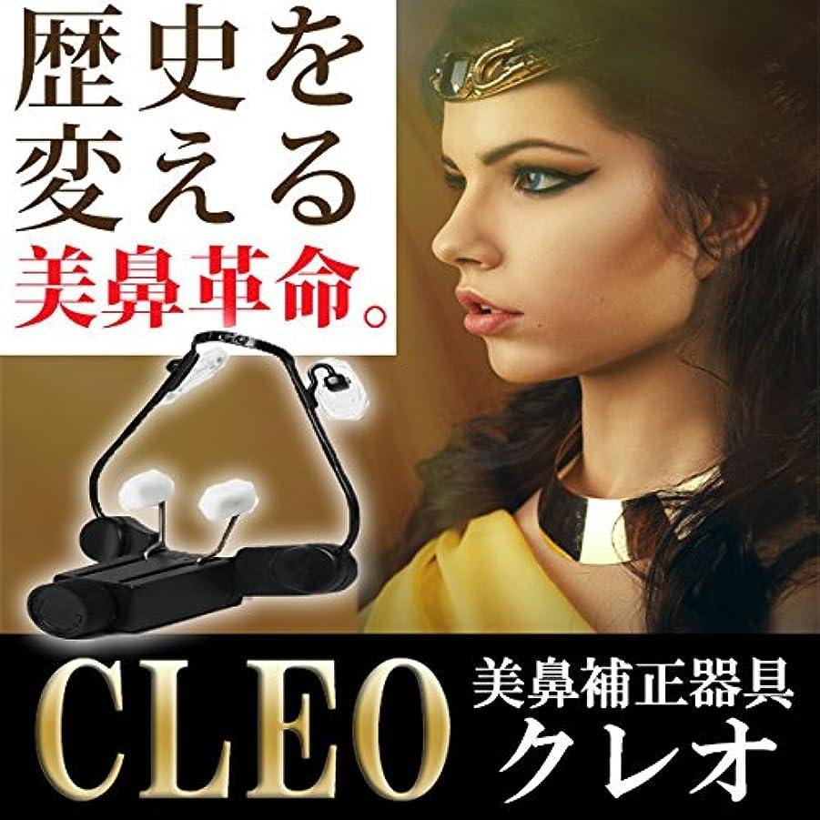 浸食充電書き出す美鼻補整器具CLEO(クレオ) 1日10分できりっと通った鼻筋を目指せ!