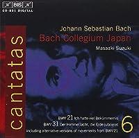 Bach: Cantatas, Vol 6 (BWV 31, 21) /Bach Collegium Japan ・ Suzuki by Johann Sebastian Bach (1998-02-24)