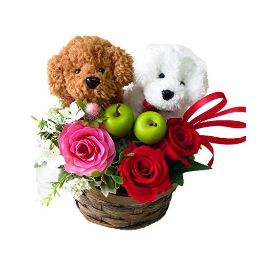 花 誕生日 プレゼント 女性 プリザーブドフラワーのバラとト...