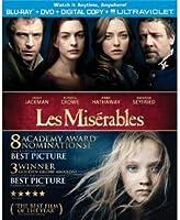 Les Miserables/レ・ミゼラブル Blu-Ray+DVD(R1)[英語のみ] [Import]