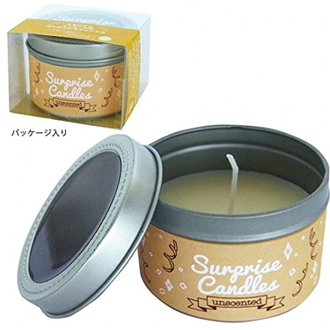 絶対の提供する体系的にカメヤマキャンドル( kameyama candle ) サプライズキャンドル 「無香」