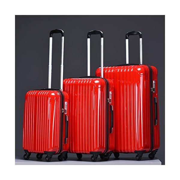 ラッキーパンダ スーツケース TY001 TS...の紹介画像6